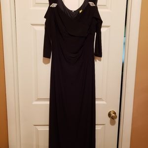 Evening gown worn once